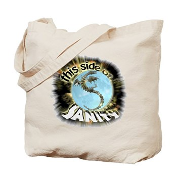 This Side of Sanity Tote Bag