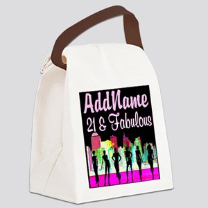 TRENDY 21ST Canvas Lunch Bag