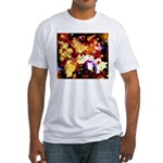 The Orchid Galaxy Fitted T-Shirt