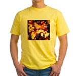 The Orchid Galaxy Yellow T-Shirt