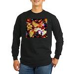 The Orchid Galaxy Long Sleeve Dark T-Shirt
