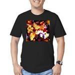 The Orchid Galaxy Men's Fitted T-Shirt (dark)