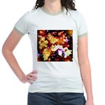 The Orchid Galaxy Jr. Ringer T-Shirt