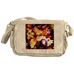 The Orchid Galaxy Messenger Bag