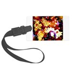 The Orchid Galaxy Large Luggage Tag