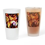 The Orchid Galaxy Drinking Glass