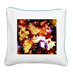 The Orchid Galaxy Square Canvas Pillow