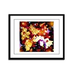 The Orchid Galaxy Framed Panel Print