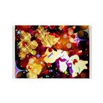 The Orchid Galaxy Rectangle Magnet (10 pack)