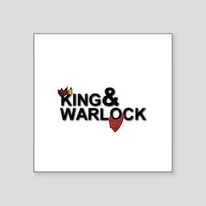King&Warlock Sticker