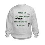 Carry Your Crook Kids Sweatshirt