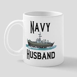 Navy Husband Mug