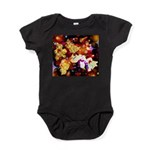 The Orchid Galaxy Constellation Baby Bodysuit