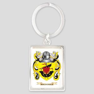 MacDonald Coat of Arms - Family  Portrait Keychain