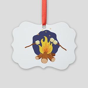 Campfire Marshmallows Ornament