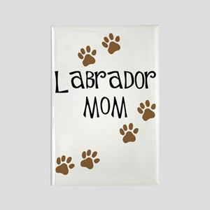 Labrador Mom Rectangle Magnet