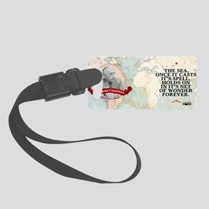 Jacques Yves Cousteau Historical Small Luggage Tag