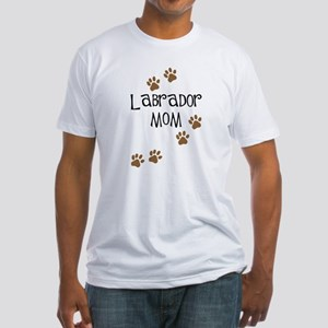 Labrador Mom Fitted T-Shirt