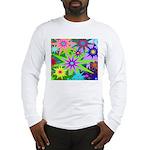 Exploding Stars Graphic Long Sleeve T-Shirt