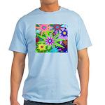 Exploding Stars Graphic Light T-Shirt