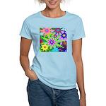 Exploding Stars Graphic Women's Light T-Shirt