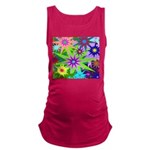 Exploding Stars Graphic Maternity Tank Top