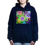 Exploding Stars Graphic Hooded Sweatshirt