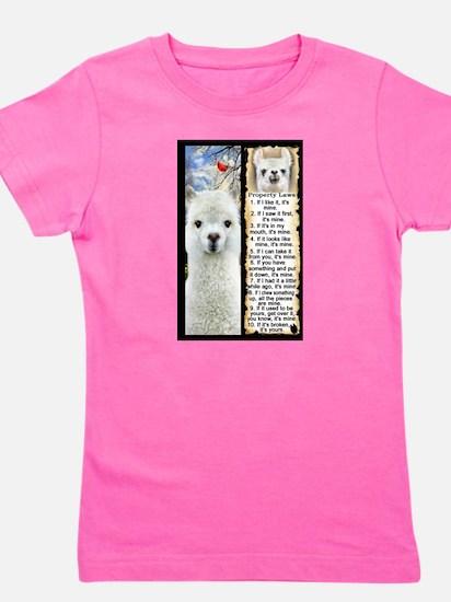 LLAMA Rules LLAMA LOVER T-Shirt