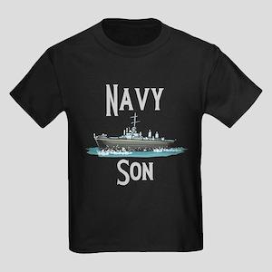 Navy Son Kids Dark T-Shirt