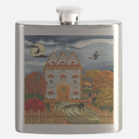 Samhain Cottage Flask