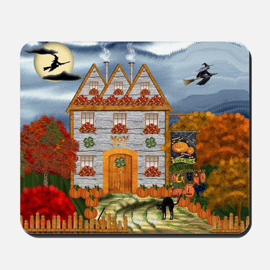 Samhain Cottage Mousepad