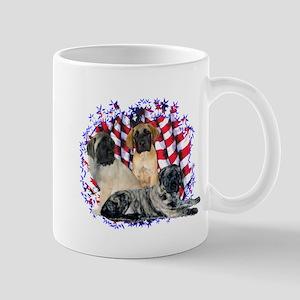 Mastiff(pups) Patriot Mug