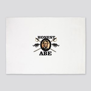 honest abe cannon 5'x7'Area Rug