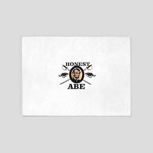 honest abe cannon 5'x7'Area Rug