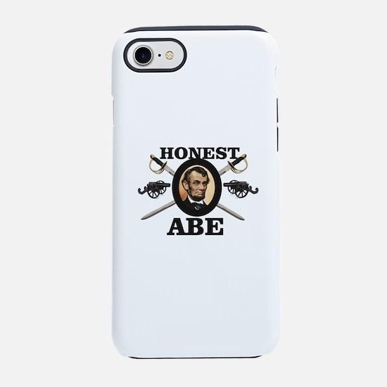 honest abe cannon iPhone 7 Tough Case