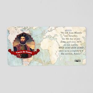 Vasco da Gama Historical Mu Aluminum License Plate