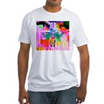 HRHSF Digital Butterfly Fitted T-Shirt