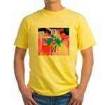 HRHSF Digital Butterfly Yellow T-Shirt