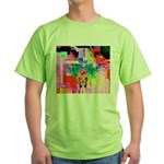 HRHSF Digital Butterfly Green T-Shirt