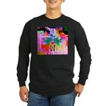 HRHSF Digital Butterfly Long Sleeve Dark T-Shirt