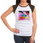 HRHSF Digital Butterfly Women's Cap Sleeve T-Shirt