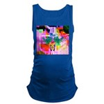 HRHSF Digital Butterfly Maternity Tank Top