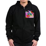 HRHSF Digital Butterfly Zip Hoodie (dark)