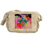 HRHSF Digital Butterfly Messenger Bag