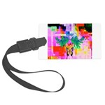 HRHSF Digital Butterfly Large Luggage Tag