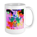 HRHSF Digital Butterfly Large Mug