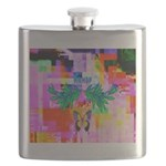 HRHSF Digital Butterfly Flask