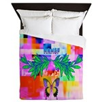HRHSF Digital Butterfly Queen Duvet