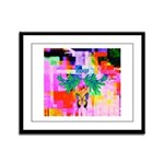 HRHSF Digital Butterfly Framed Panel Print