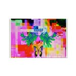 HRHSF Digital Butterfly Rectangle Magnet (100 pack